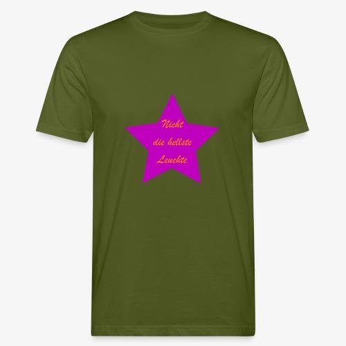 Leuchte - Männer Bio-T-Shirt