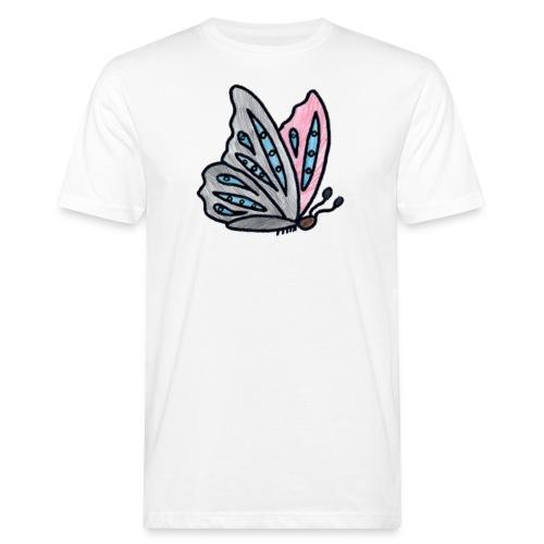 Fjäril - Ekologisk T-shirt herr
