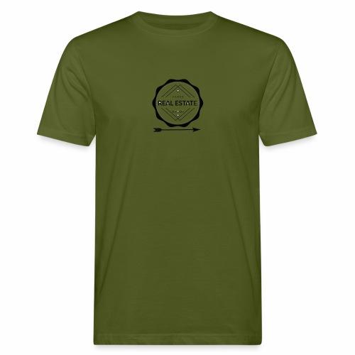 REAL ESTATE. - Camiseta ecológica hombre