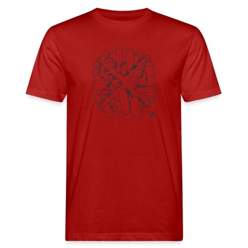 croix en perspective - T-shirt bio Homme