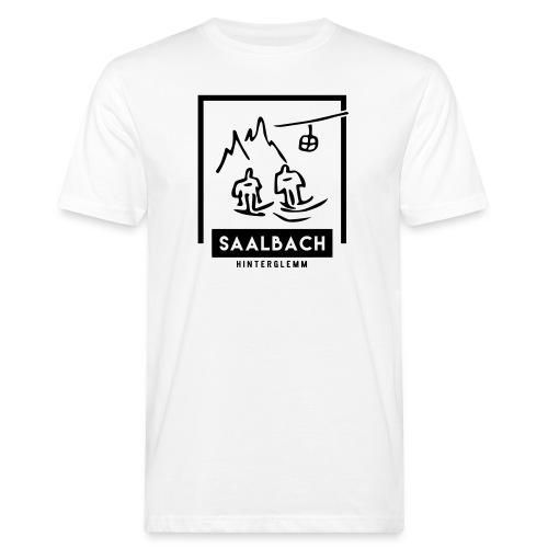 Skido's Saalbach - Mannen Bio-T-shirt