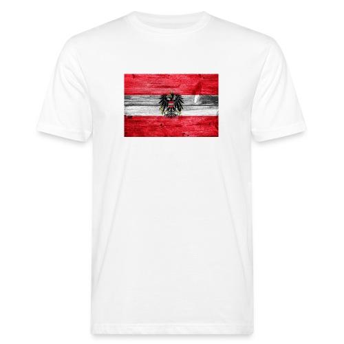 Austria Holz - Männer Bio-T-Shirt