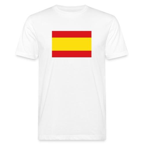 vlag van spanje - Mannen Bio-T-shirt