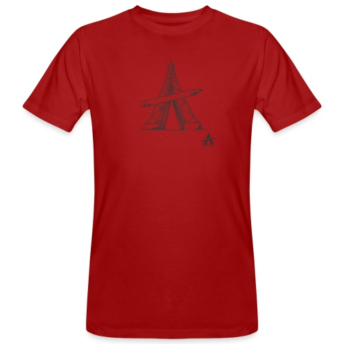 Tour Eiffel Crayon - T-shirt bio Homme
