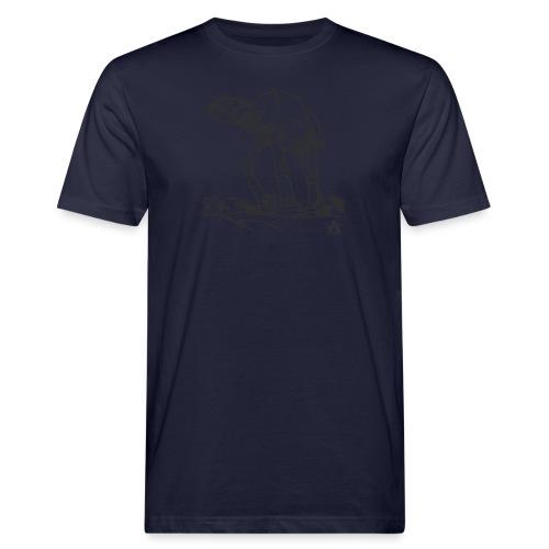 AT AT Walker ligne d'esquisse - T-shirt bio Homme