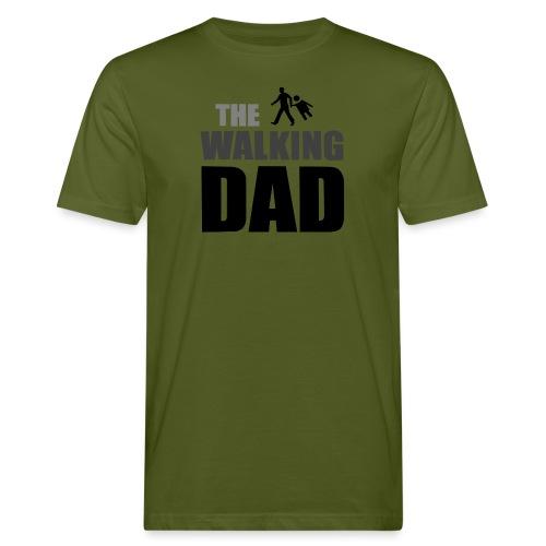 the walking dad auf dem Weg in die lustige Bar - Männer Bio-T-Shirt