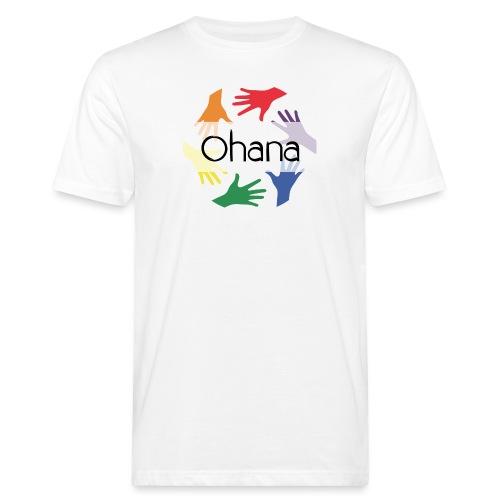 Ohana heißt Familie - Männer Bio-T-Shirt