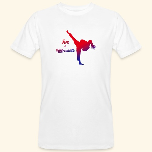 sexy e unbreakable - T-shirt ecologica da uomo