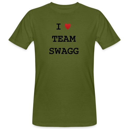 I LOVE TEAMSWAGG - T-shirt bio Homme
