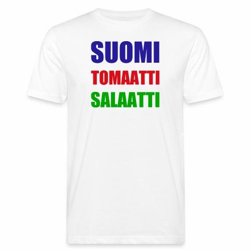 SUOMI SALAATTI tomater - Økologisk T-skjorte for menn