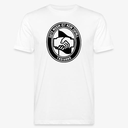 Logo Troihand - Männer Bio-T-Shirt