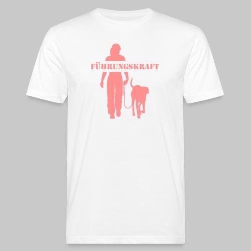 Führungskraft female - Männer Bio-T-Shirt