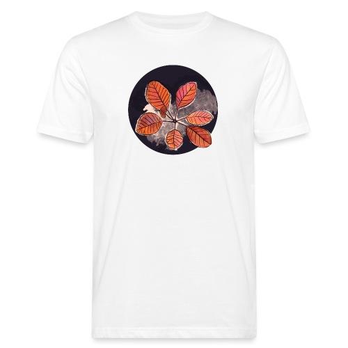 Herbstblätter Kreis - Männer Bio-T-Shirt