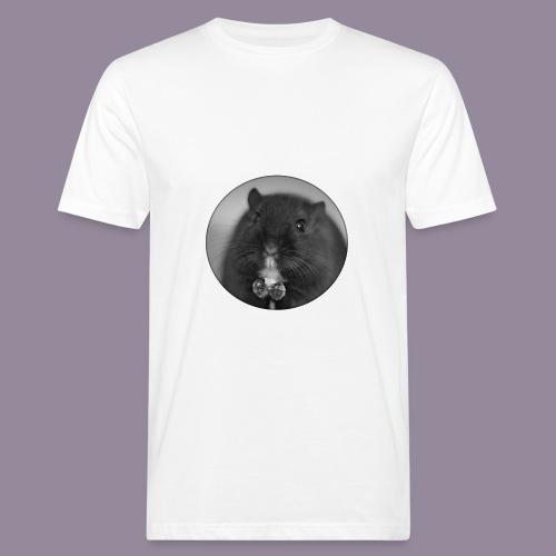 Rennmaus Ylvie - Männer Bio-T-Shirt