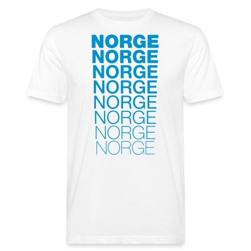 Norge Norge Norge Norge Norge Norge - Økologisk T-skjorte for menn