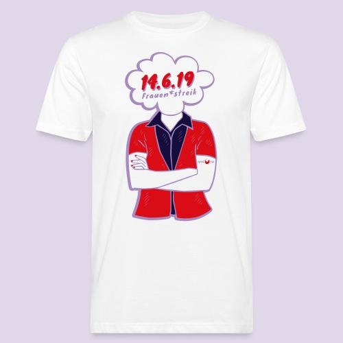 Frauenstreik - Männer Bio-T-Shirt