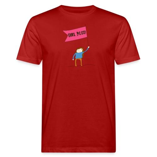 Gurl boss - Camiseta ecológica hombre