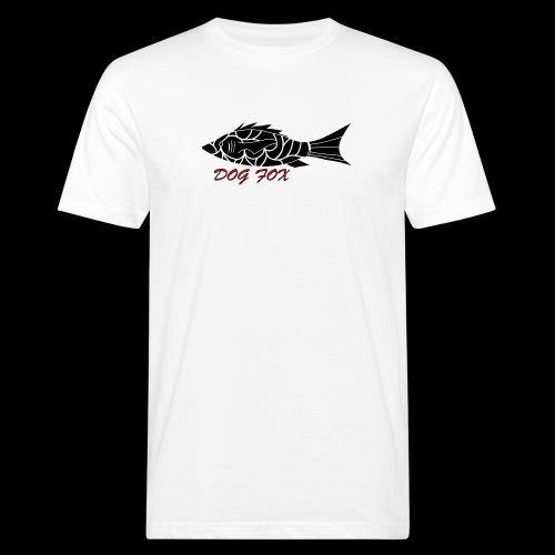 Dogfox Fisch - Männer Bio-T-Shirt