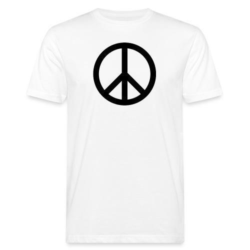 Peace Teken - Mannen Bio-T-shirt