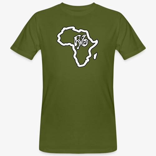 afrika pictogram - Mannen Bio-T-shirt