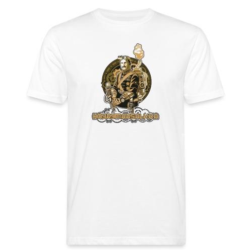 Höyrymarsalkan upea kangaskassi - Miesten luonnonmukainen t-paita