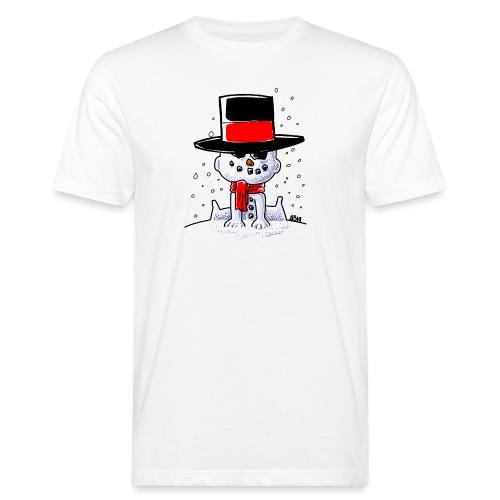 snowbaby hat - Mannen Bio-T-shirt