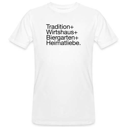 letztesHemd - Männer Bio-T-Shirt