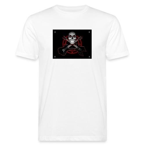 Guitarra Rockera - Camiseta ecológica hombre