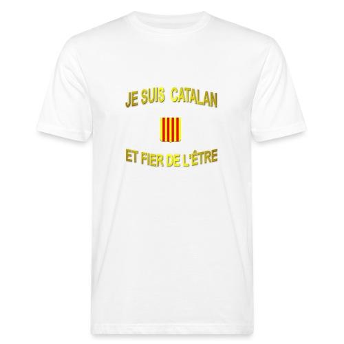 Tee-Shirt supporter du pays CATALAN - T-shirt bio Homme