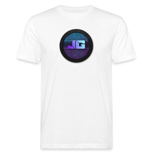 Pet met Logo - Mannen Bio-T-shirt