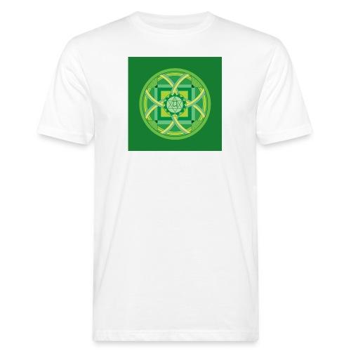 Anahata - Heart Chakra - Miesten luonnonmukainen t-paita