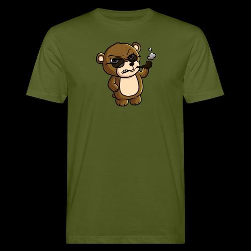 AngryTeddy - Men's Organic T-Shirt