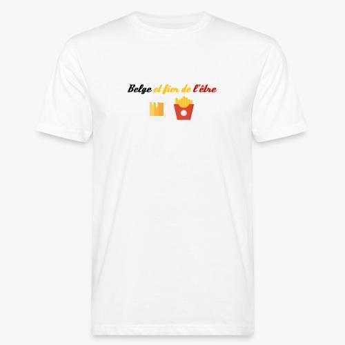 Belge et fier de l'être - T-shirt bio Homme