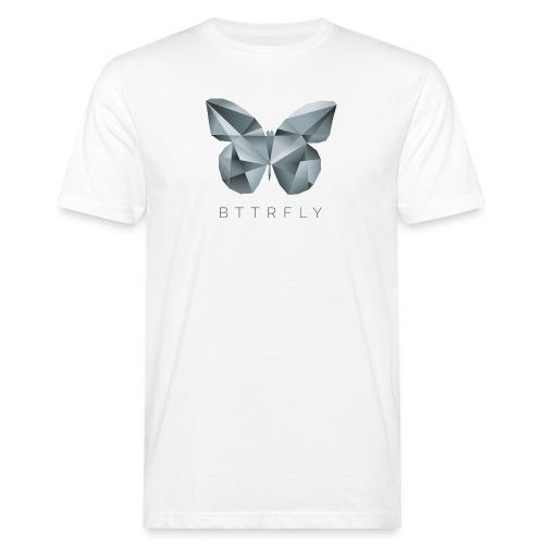 BTTRFLY - Schmetterling Polygon - Männer Bio-T-Shirt