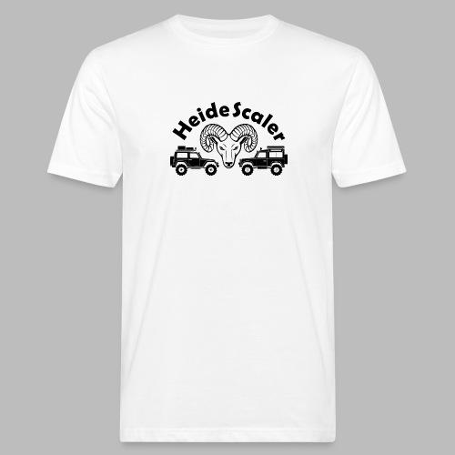 Heide Scaler black HQ - Männer Bio-T-Shirt