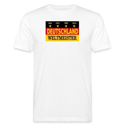 Flag of Deutschland - Mannen Bio-T-shirt