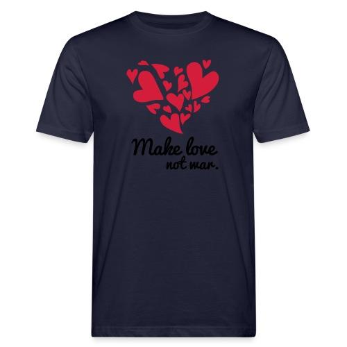 Make Love Not War T-Shirt - Men's Organic T-Shirt
