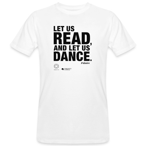 LET US READ | Bookish Merch - Männer Bio-T-Shirt