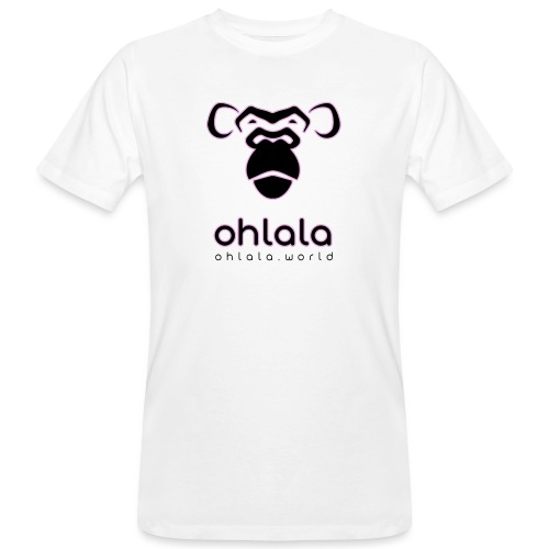 Ohlala Black & Pink - T-shirt bio Homme