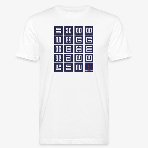 SittMocciche - T-shirt ecologica da uomo