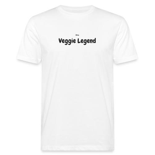 I'm a Veggie Legend - Men's Organic T-Shirt