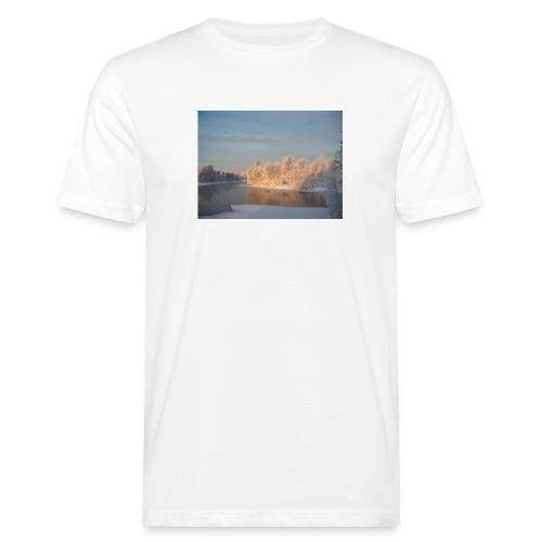 Suomen talvi - Miesten luonnonmukainen t-paita