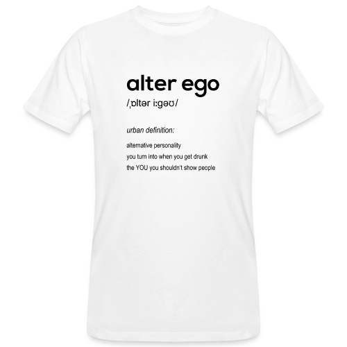 alter ego - Men's Organic T-Shirt