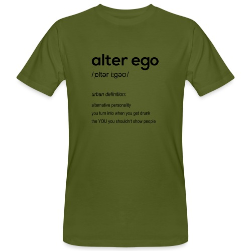alter ego - Men's Organic T-Shirt