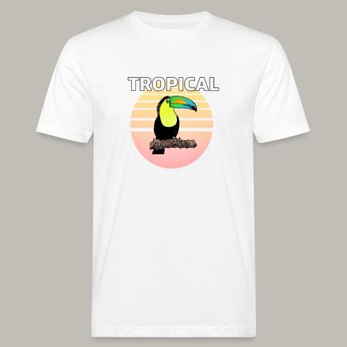 Toucan in the sun - T-shirt bio Homme
