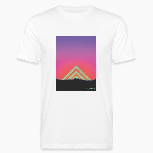 Deltamination Sunset - Männer Bio-T-Shirt