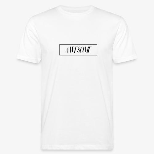 AWESOME - Männer Bio-T-Shirt