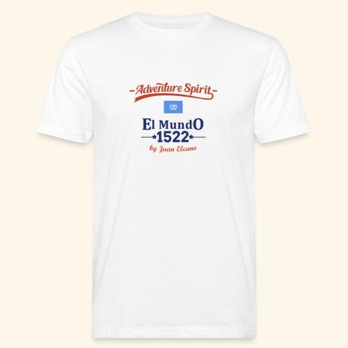 AdventureSpirit First Circumnavigation - Männer Bio-T-Shirt