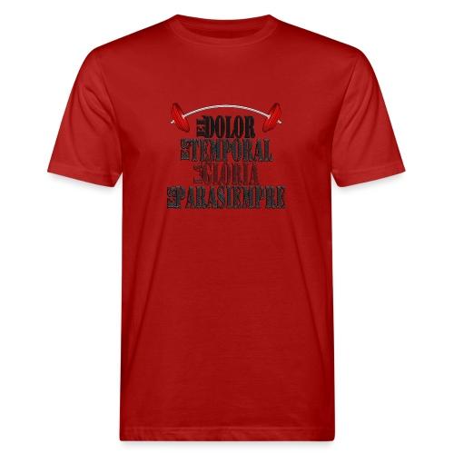 GYM - DOLOR TEMPORAL - Camiseta ecológica hombre