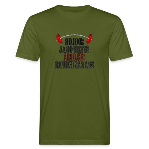 Para el Espejo: GYM - DOLOR TEMPORAL - Camiseta ecológica hombre